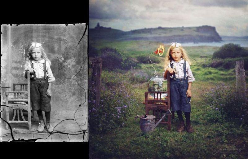 Волшебная реставрация фотографии