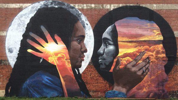 Граффити на стене в г. Ньюарк (США)