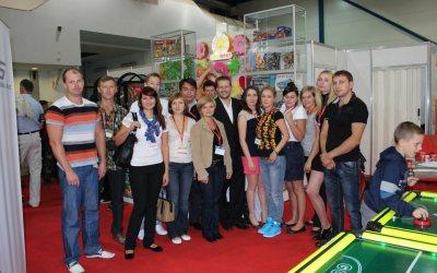 Бизнес-тренинг в Киеве в рамках выставки Индустрия Развлечений