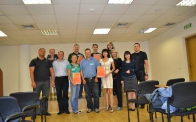 Фото тренинга «Академия эффективных развлекательных центров» в Киеве 2011