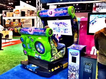 Dream Raiders на выставке IAAPA