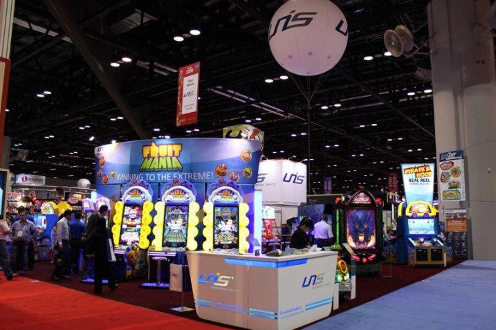 Фотографии с выставки IAAPA 2012