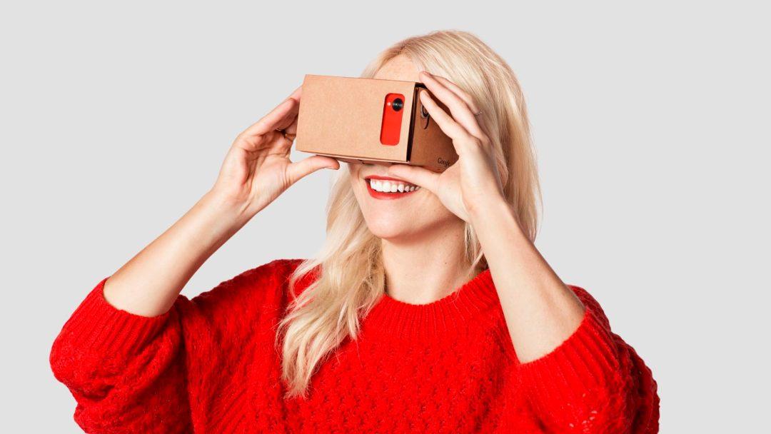 google cardboard очки виртуальной реальности