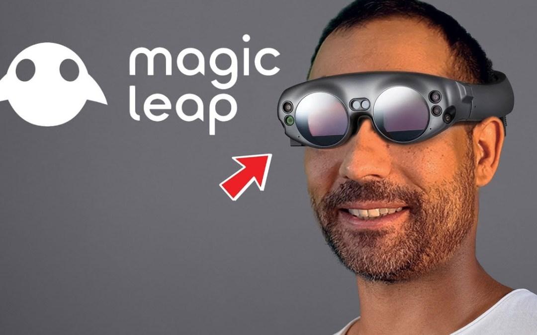Magic Leap One – очки дополненной реальности стирающие грань виртуального и реального миров