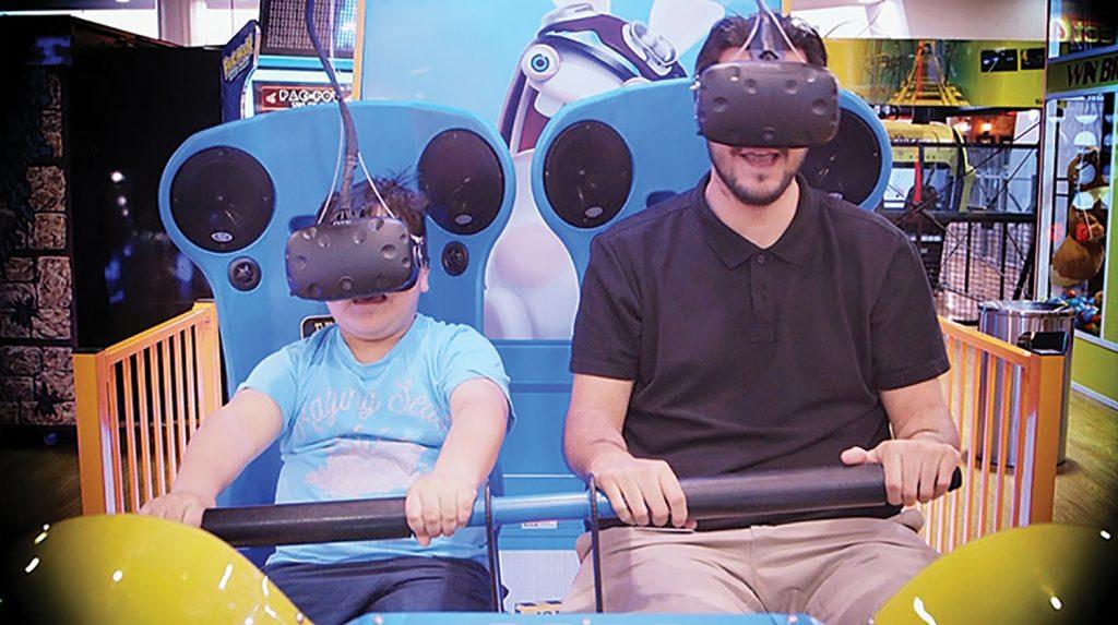 Virtual-Rabbids ТОП аттракцион виртуальной реальности/ vr очки / клуб виртуальной реальности