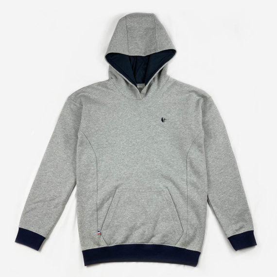 Sweat à capuche unisexe ecoresponsable et made in France