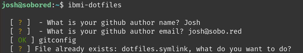 IBM i Dotfiles Install