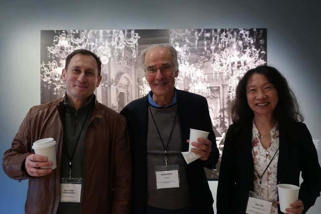 Dr. Sobolevsky with Dr. Hirsh and Dr. Wu