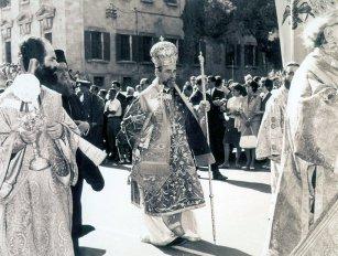 Митр. Мелитон Халкидонский. 1-е Всеправославное Совещание. остров Родос, 1961