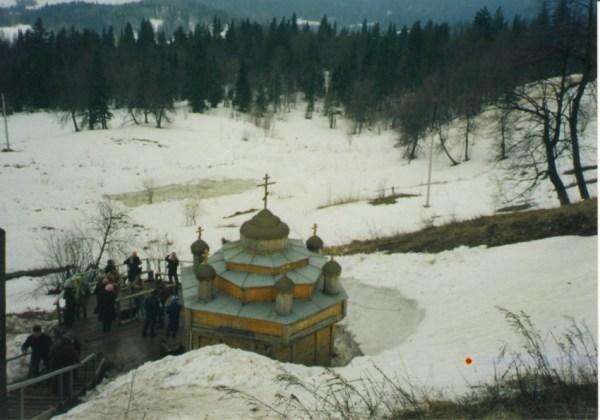 Белая Гора. Николаевский Белогорский монастырь. Часовня ...