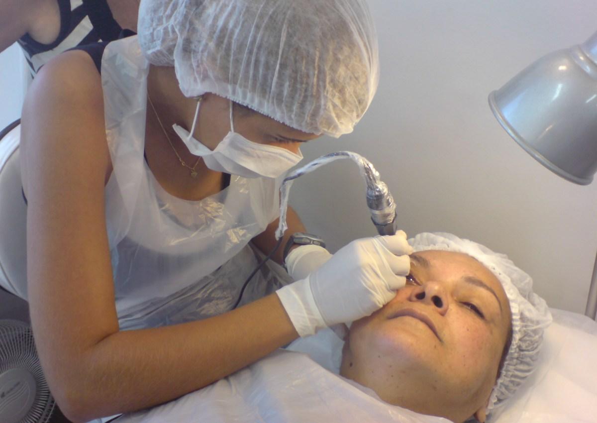 Micropigmentação - Maquiagem Definitiva - Olhos procedimento