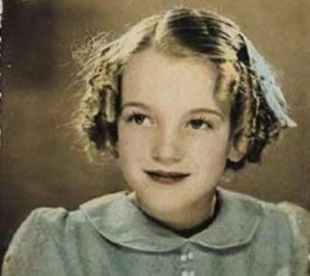 Marilyn Monroe de niña