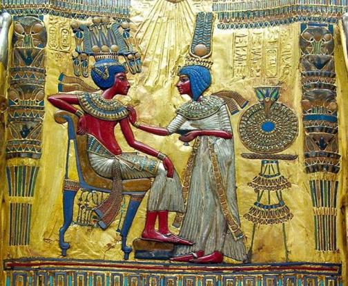 Tutankamon y Ankhesenpaaton