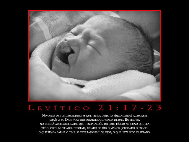 Levítico 21:17-23