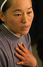 La directora del centro. (Foto: AP   G. Bull)