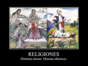 Las religiones y sus sacrificios sanguinarios
