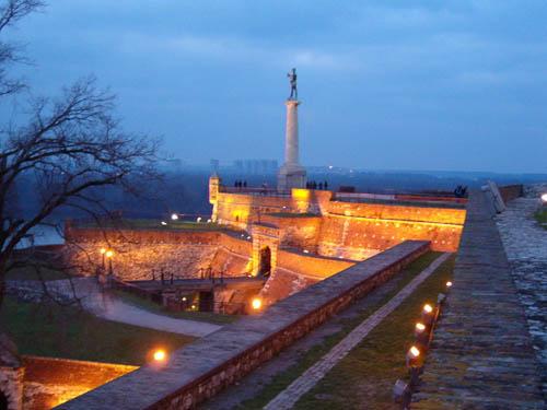 Kalemegdan en Belgrado