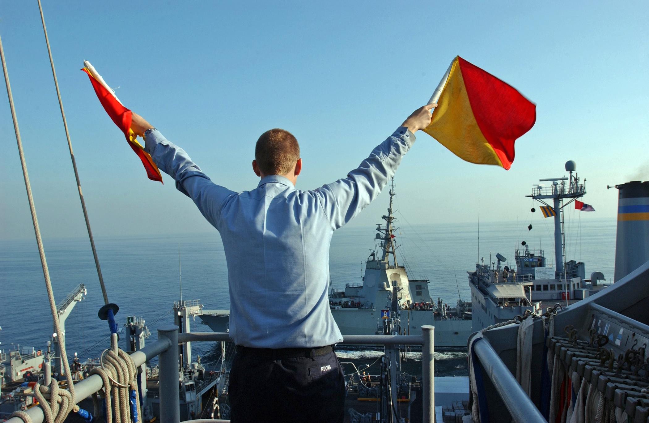 Comunicação de emergência: Bandeiras