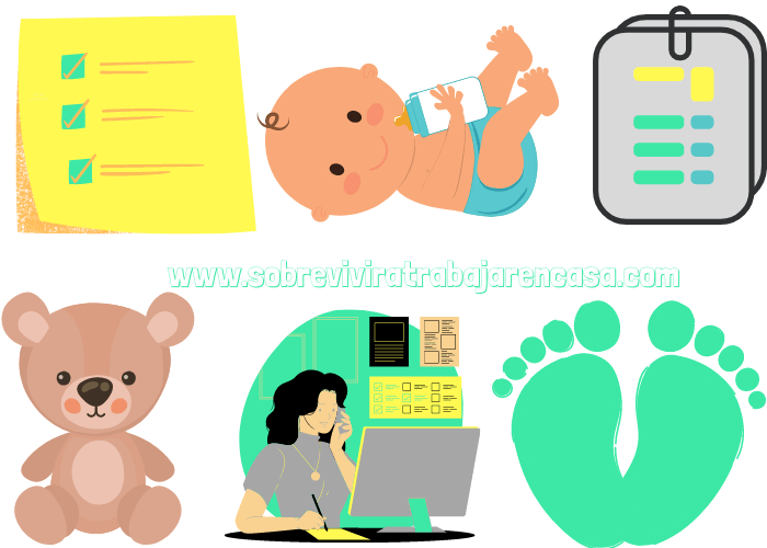 ser mamá y freelance