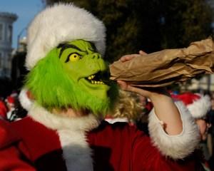 Christmas-drunk