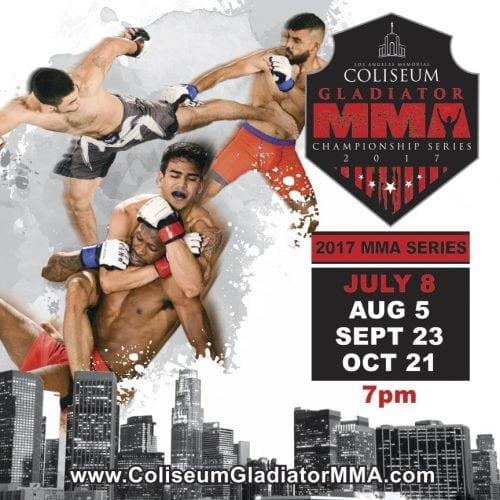 Amazing LA Coliseum MMA Show This Saturday, Save $10 A Ticket!