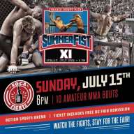 OC Fair Free With SummerFist XI MMA Ticket Purchase Call 949 760-3131