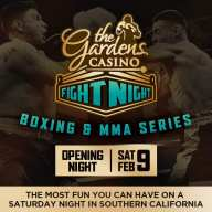 New 2019 Southern California Saturday Fight Series Announced