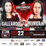 Female MMA Title Fight Plus Malcolm McAllister Returns on 8/22 Show