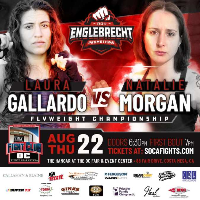 Female MMA Title Fight Plus Malcolm McAllister Returns on 8/22 Show