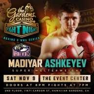 WBC Title Fight Set For Nov 9th Gardens Casino Fight Night