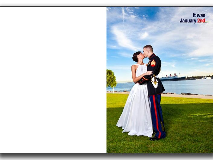 Long Beach Marines wedding Greek wedding