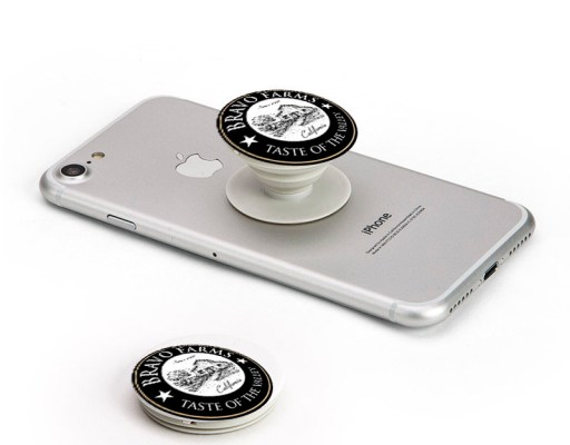 Southern California How to market your business with a Pop Phone Socket Stand. Pop Phone Socketsare one ofbest promotional itemsand here's why, APop Phone Socketget your brand on the one thing that every customer takes everywhere: their phone. The average person looks at their phone166times a day. Their contacts and passers-by see that phone. Their selfies show that phone to all their social media contacts. That's hundreds and hundreds of times a day your logo can be seen.