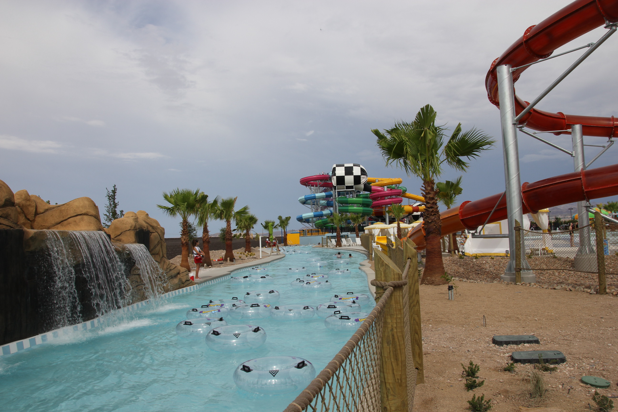 Rides and Pools for Smaller Children