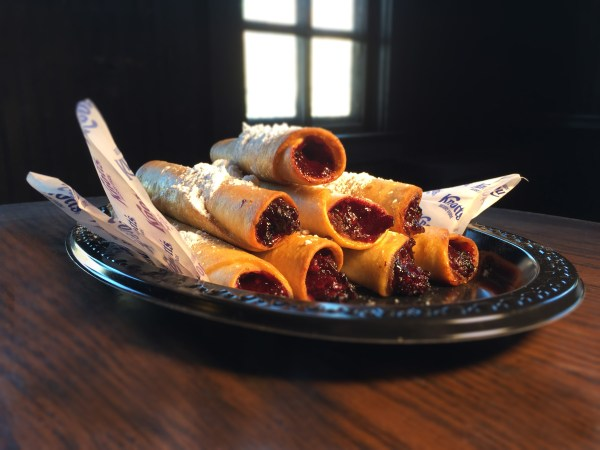 Boysenberry Dessert Flautas