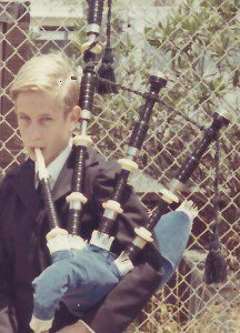 Young Socal BagPiper
