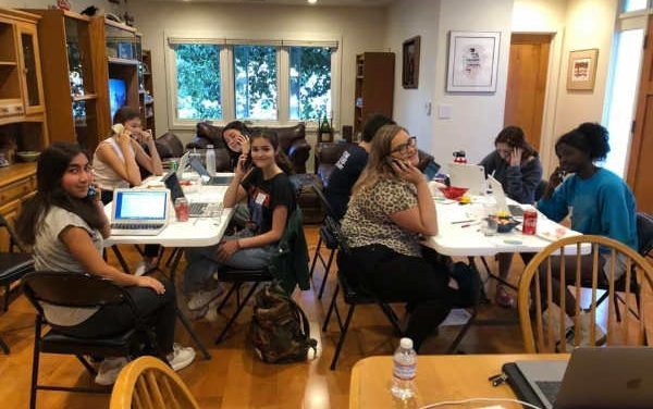 Young Dems Join Grassroots Dem HQ