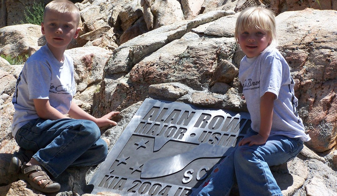 Alan Rowe Monument Dedication – June 2005