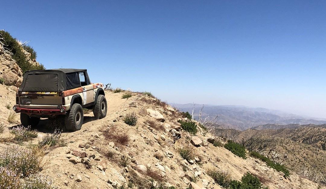 Big Bear Bronco Bash XIX – Pipes Canyon – June 2020
