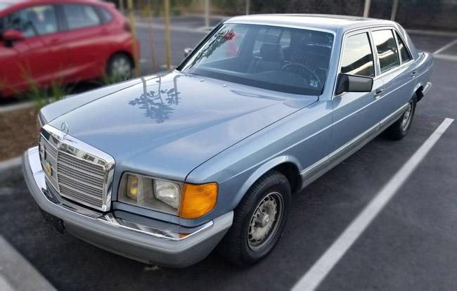 1985 Mercedes-Benz 500 SEL