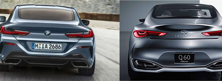 BMW 8 Series….Infiniti Q60's Big Brother?