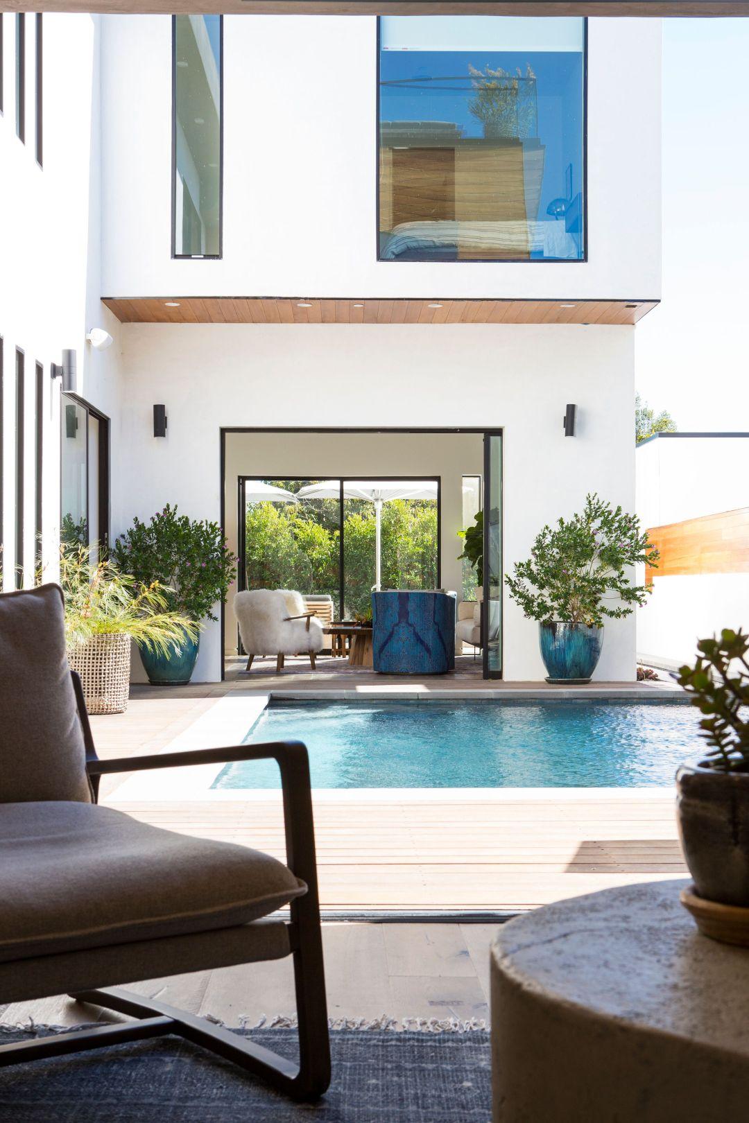 Venice Beach house with indoor outdoor flow