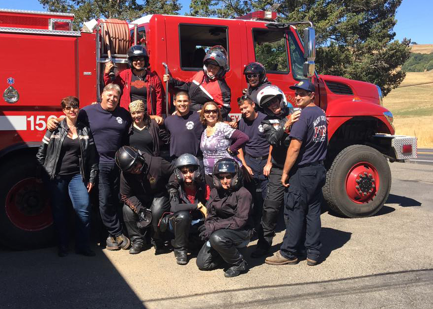Hangin' with the Firemen