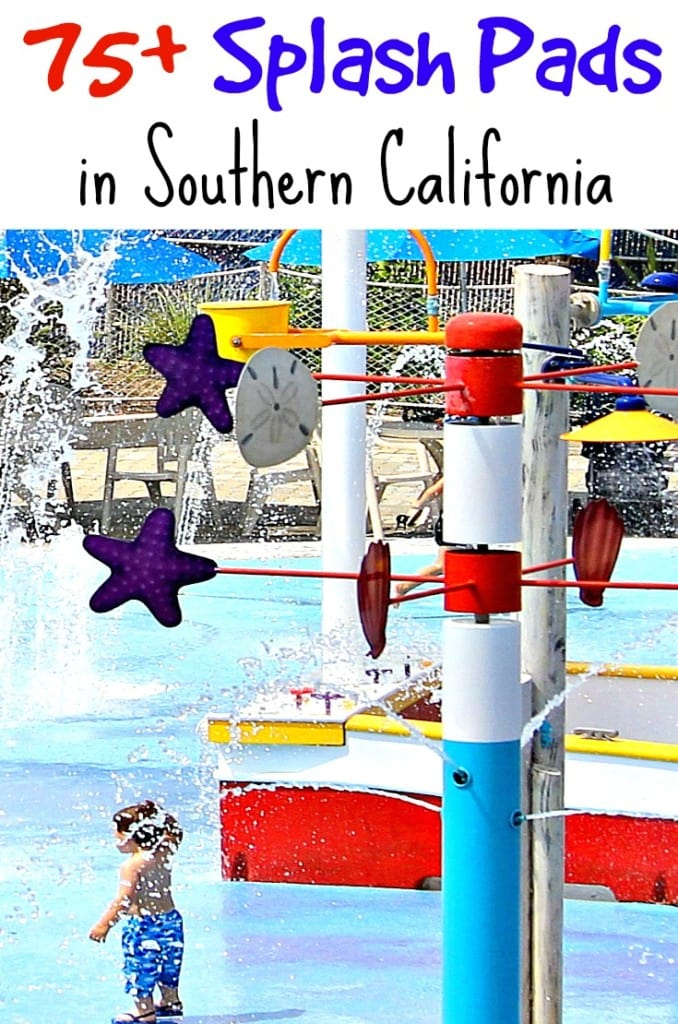 75+ Splash Pads in Southern California