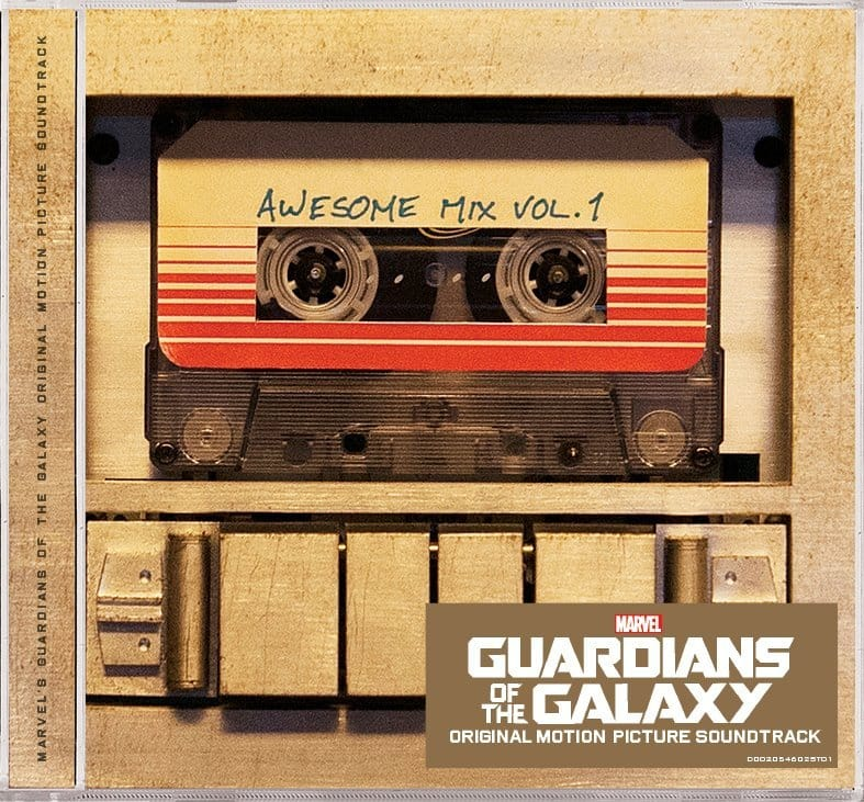 Disney's Guardians of the Galaxy Music CD