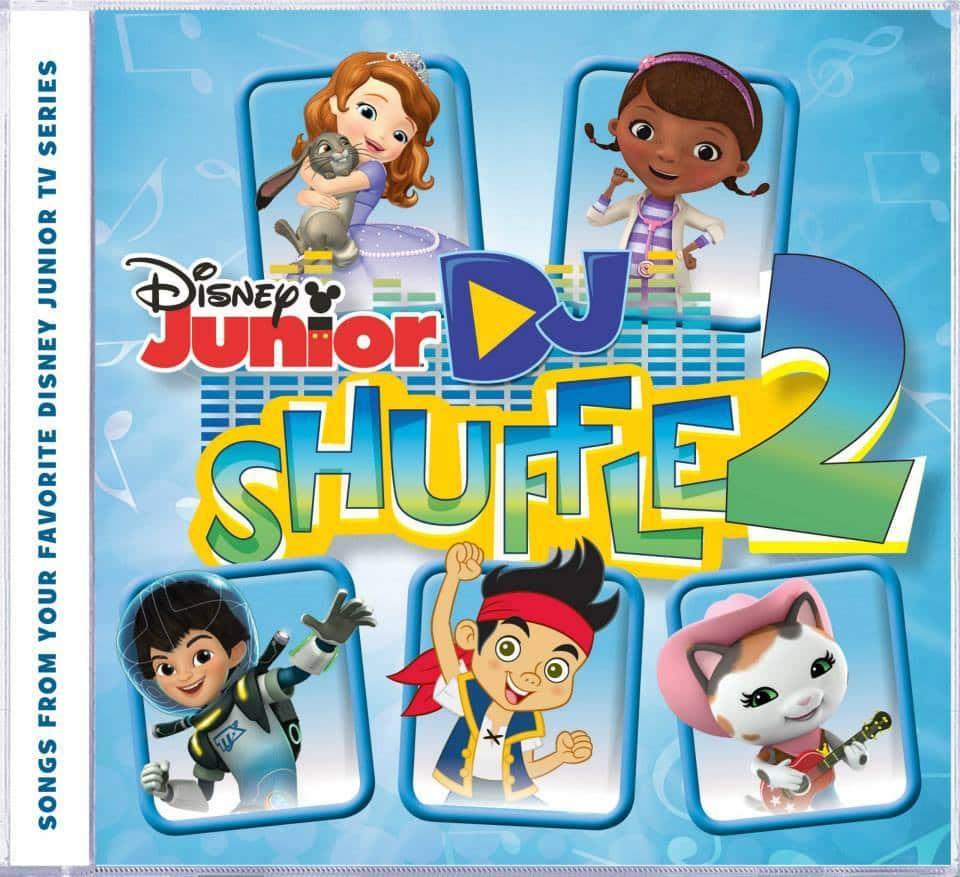 Disney Junior DJ Suffle 2 CD