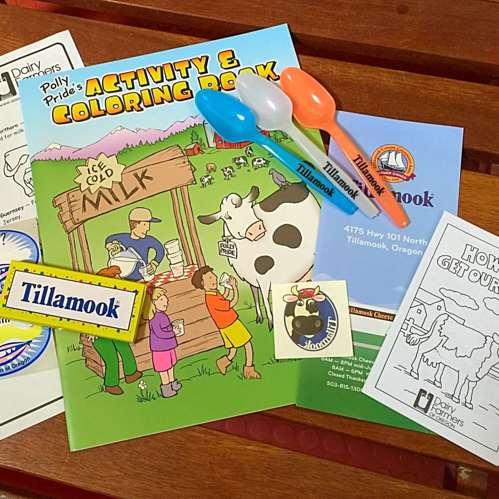 The Tillamook Cheese Factory offers a FREE tour for families and school groups. They are open daily year-round from 8 a.m. to 6 p.m. from Labor Day through mid-June / 8 a.m. to 8 p.m. from Mid-June through Labor Day.