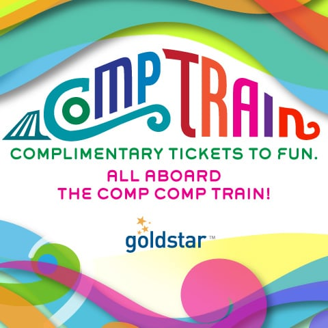 Goldstar is currently offering free event tickets to several local venues throughout Southern California. Get them while you can!