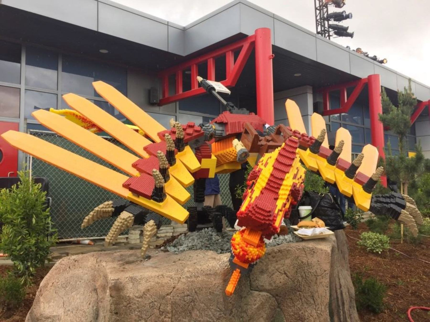 NINJAGO World features five attractions all designed to test guests balance, agility, speed and creativity: Zane's Temple Build, Kai's Spinners, Cole's Rock Climb, Jay's Lightning Drill and NINJAGO The Ride.