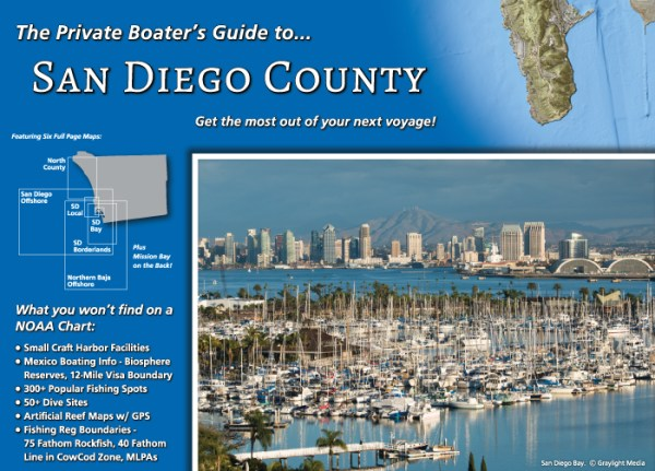Front cover of The Private Boater's Guide to San Diego County