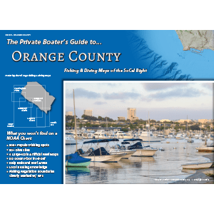 Front cover of the Private Boater's Guide to Orange County